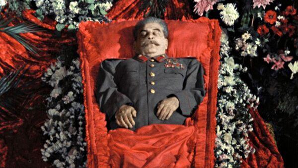 Pogrzeb Józefa Stalina, 1953 r. - Sputnik Polska