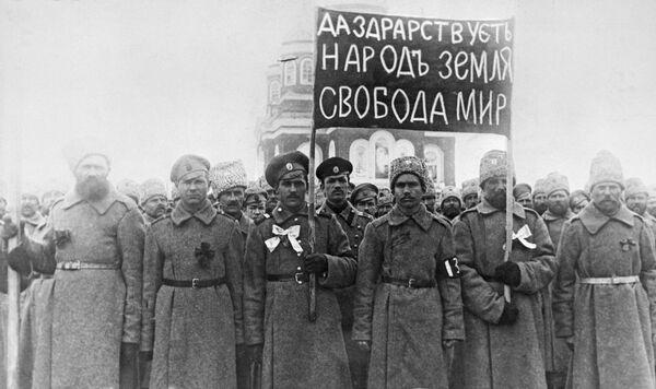 Dla dalekowschodniego miasta Nikołajewska z ludnością około 15 tysięcy osób, demonstracja była nie tylko zauważalnym, ale wręcz zwrotnym wydarzeniem. Dla mieszkańców, którzy przywykli do sąsiedztwa katorżników na Sachalinie i zagrożenia wojennego, rok 1917 był w niespotykany sposób groźny. - Sputnik Polska