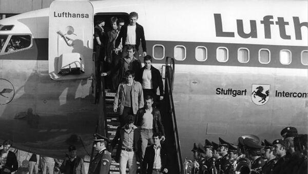 W czasie lotu samolot został porwany przez palestyńskich terrorystów - Sputnik Polska