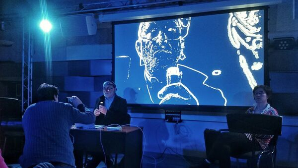 Indywidualny performance Marka Chołoniewskiego z wykorzystaniem oryginalnego sprzętu - Sputnik Polska