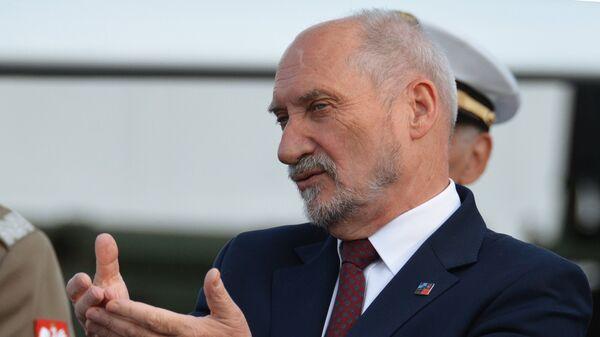 Szczyt NATO w Warszawie, Antoni Macierewicz - Sputnik Polska