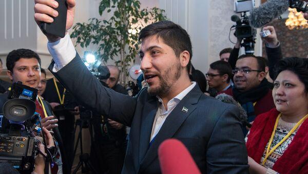 Rzecznik opozycyjnej Wolnej Armii Syrii (WAS) Osama Abu Zeid - Sputnik Polska