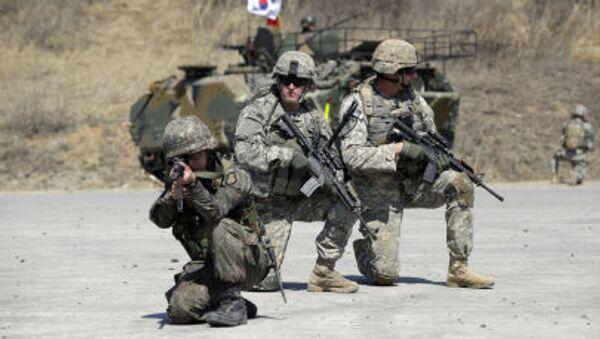 ćwiczenia wojskowe Korei Południowej i USA - Sputnik Polska