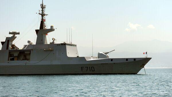 Francuska fregata La Fayette - Sputnik Polska