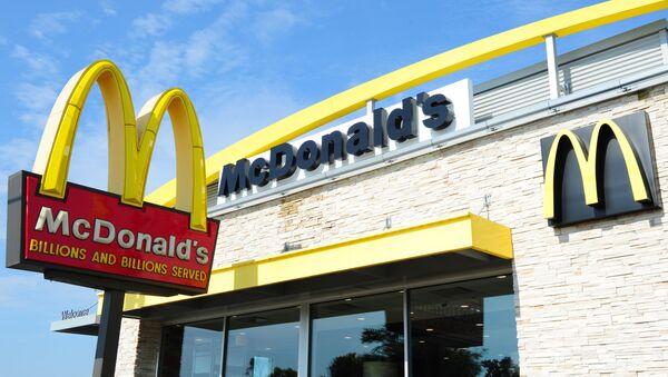 Ресторан McDonald's в США - Sputnik Polska