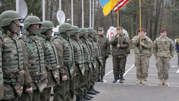 Ukraińsko-amerykańskie ćwiczenia sztabowe - Sputnik Polska