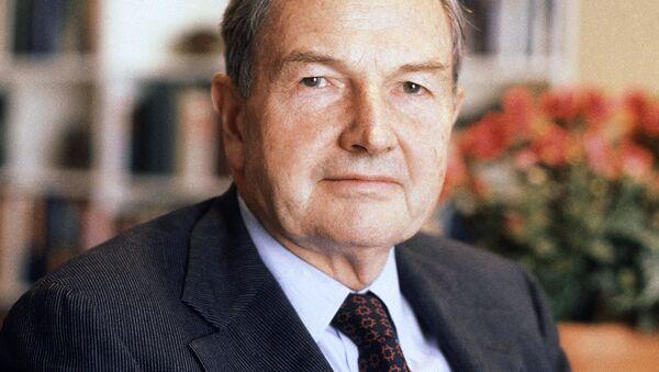 David Rockefeller, 1981 - Sputnik Polska