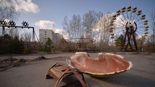 Miasto Prypeć w Czarnobylskiej Strefie Wykluczenia - Sputnik Polska