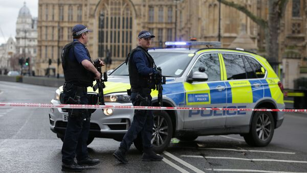 Strzelanina przed brytyjskim parlamentem. Są ranni - Sputnik Polska