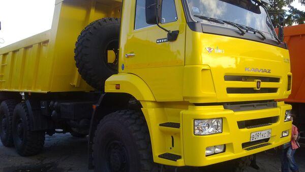 Ciężarówka KamAZ - Sputnik Polska