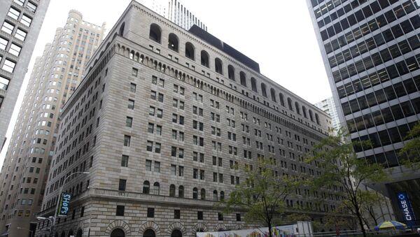 Budynek Banku Rezerw Federalnych w Nowym Jorku na Manhattanie - Sputnik Polska
