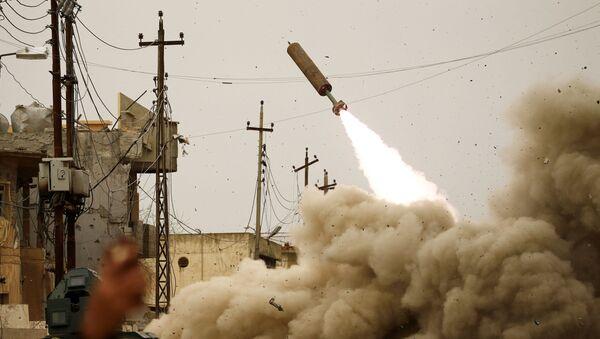 Walka z bojownikami PI w Mosulu - Sputnik Polska