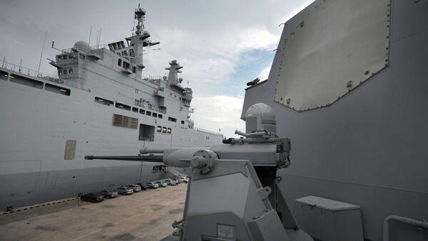 System Aegis na pokładzie amerykańskiego okrętu - Sputnik Polska