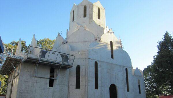 Budowa cerkwi prawosławnej w Strasburgu - Sputnik Polska