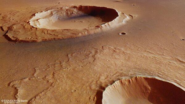 Kratery na Marsie - Sputnik Polska