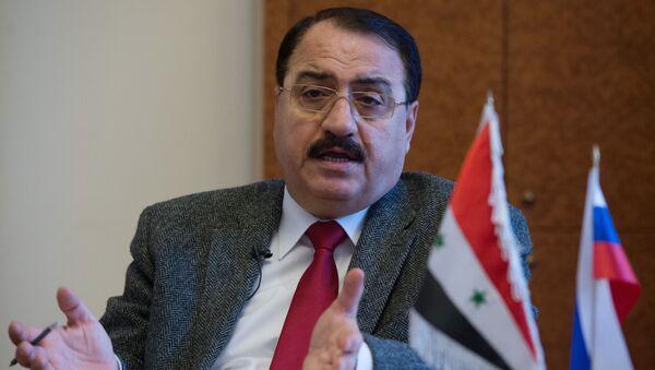 Ambasador Syrii w Rosji Riyad Haddad - Sputnik Polska