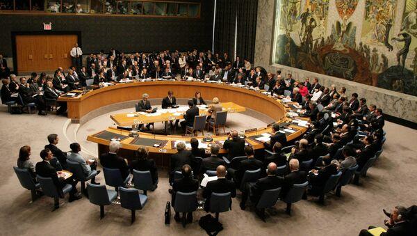 W czasie szczytu członków Rady Bezpieczeństwa ONZ - Sputnik Polska