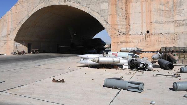 Atak rakietowy USA w Syrii - Sputnik Polska