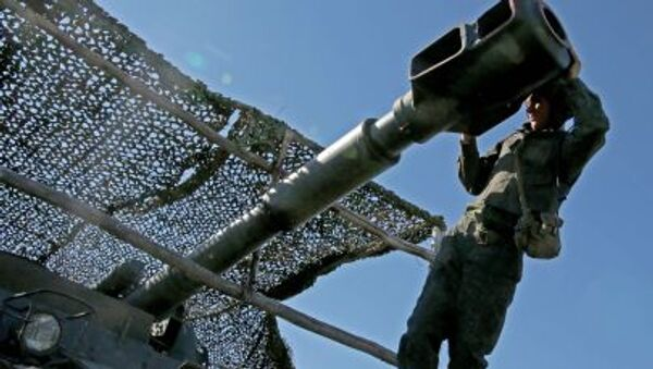 Ćwiczenia wojskowe w obwodzie kaliningradzkim - Sputnik Polska