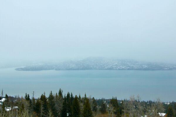 Widok na zatokę w Kachemak Selo, Alaska - Sputnik Polska