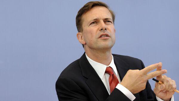 Rzecznik niemieckiego rządu Steffen Seibert - Sputnik Polska