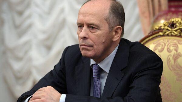 Dyrektor Federalnej Służby Bezpieczeństwa Rosji Aleksander Bortnikow - Sputnik Polska