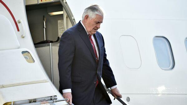 Sekretarz stanu USA Rex Tillerson - Sputnik Polska