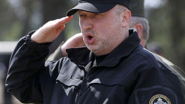 Sekretarz Rady Bezpieczeństwa Narodowego i Obrony Ołeksandr Turczynow - Sputnik Polska