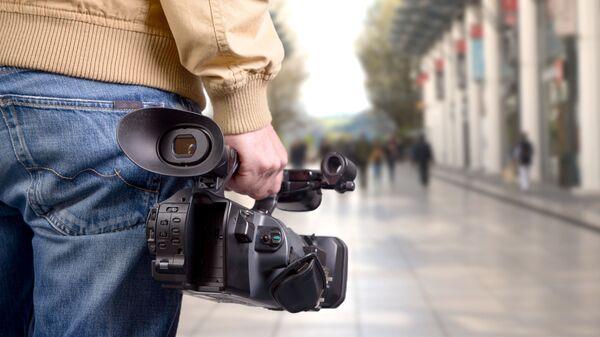 Człowiek z kamerą - Sputnik Polska