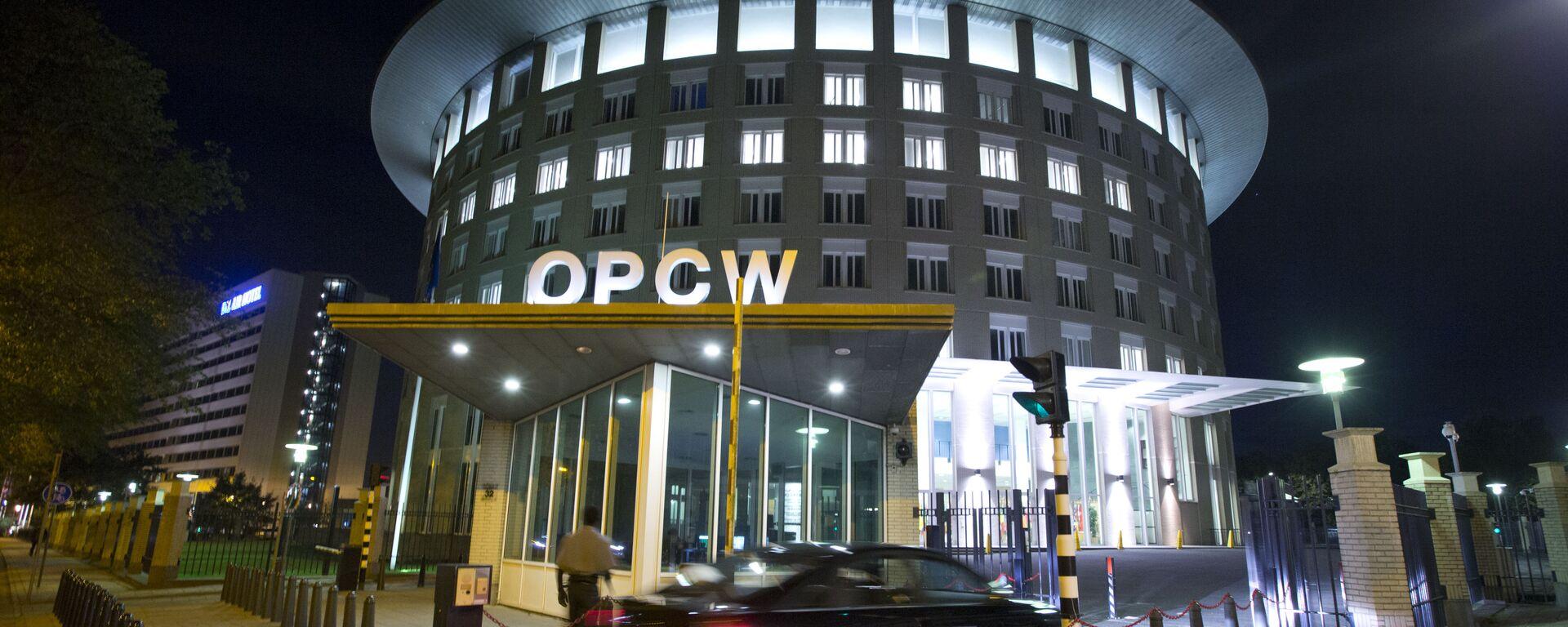 Organizacja ds. Zakazu Broni Chemicznej (OPCW)  - Sputnik Polska, 1920, 01.12.2020