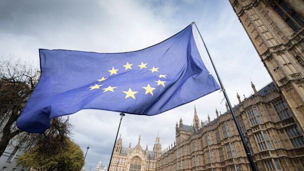 Flaga UE w Londynie - Sputnik Polska