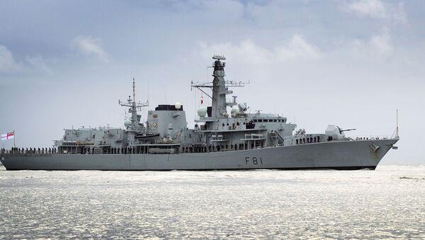 Brytyjski okręt patrolowy Sutherland - Sputnik Polska