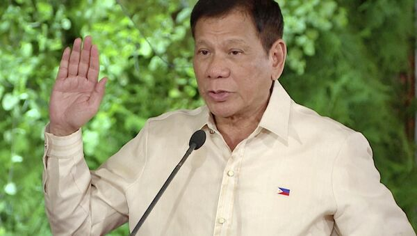 Prezydent Filipin Rodrigo Duterte - Sputnik Polska