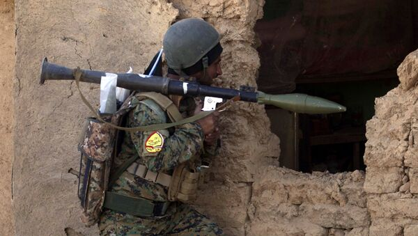Irakijski żołnierz w mieście Tall Afar - Sputnik Polska