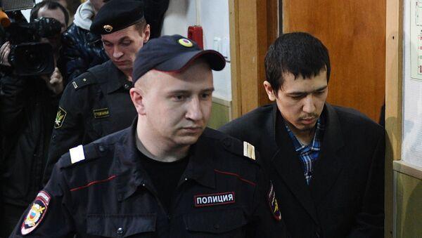 Domniemany organiator zamachu w petersburskim metrze Abror Azimow - Sputnik Polska
