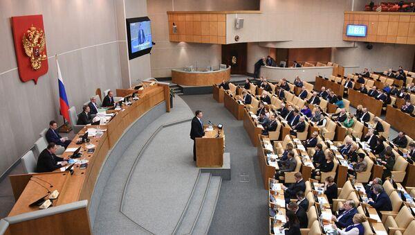 Rosyjscy eksperci opowiedzieli w Dumie Państwowej o jednostronnym naświetlaniu wyborów w Rosji przez Głos Ameryki i Radio Swoboda - Sputnik Polska