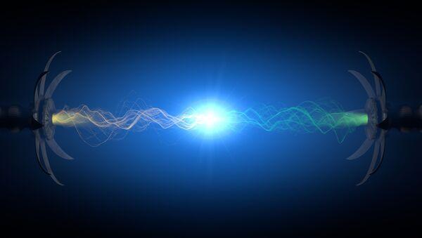 Zderzenie supermałych cząsteczek - Sputnik Polska