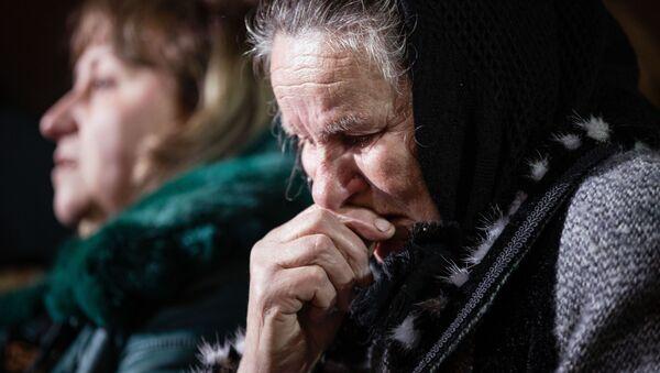 Ukraińcy na uroczystościach upamiętniających tragiczne wydarzenia z 20 lutego 2014 roku - Sputnik Polska