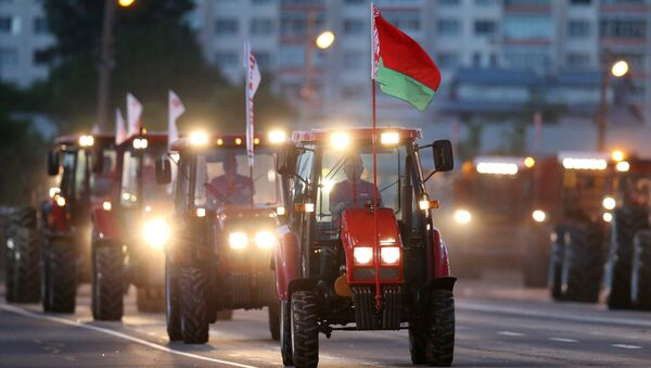 Dzień Niepodległości w Mińsku, Białoruś - Sputnik Polska