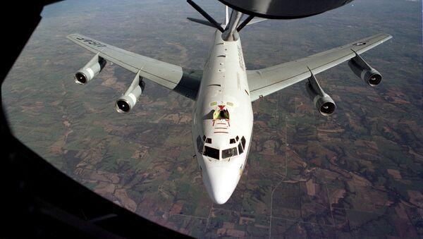 Samolot Boeing WC-135 Constant Phoenix amerykańskich sił powietrznych - Sputnik Polska