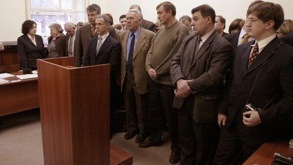 Członkowie Świadków Jehowy w sądzie moskiewskim - Sputnik Polska