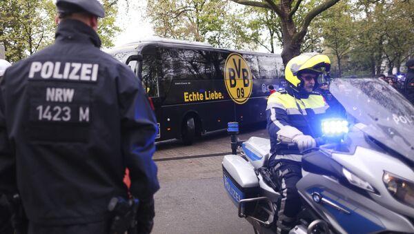 Niemiecka policja zatrzymała mężczyznę podejrzanego o zamach na autokar piłkarzy klubu Borussia Dortmund - Sputnik Polska
