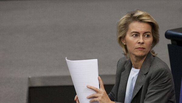 Minister obrony Niemiec Ursula von der Leyen - Sputnik Polska