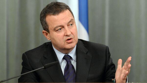 Wicepremier i minister spraw zagranicznych Serbii Ivica Dačić - Sputnik Polska