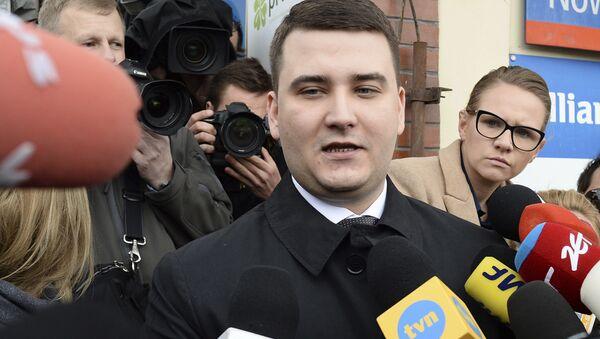 Bartłomiej Misiewicz - Sputnik Polska