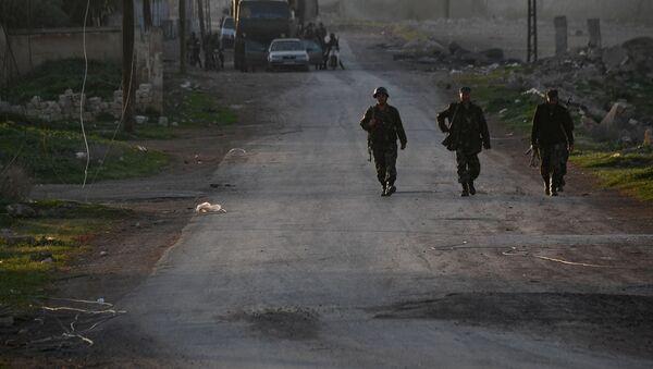 Sytuacja w prowincji Hama, Syria - Sputnik Polska