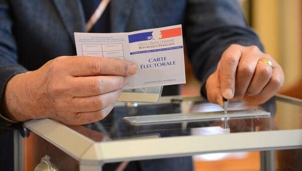 Pierwsza tura wyborów prezydenckich we Francji - Sputnik Polska