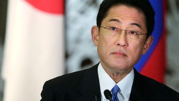 Minister spraw zagranicznych Japonii Fumio Kishida - Sputnik Polska