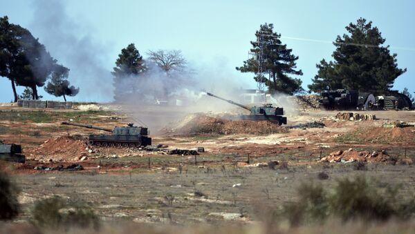 Turecka artyleria - Sputnik Polska