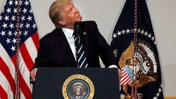 Prezydent USA Donald Trump - Sputnik Polska